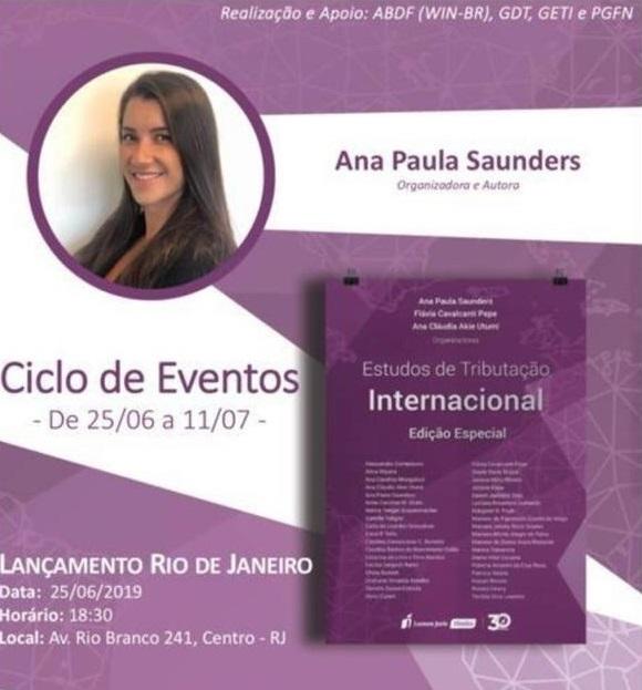 """Lançamento: Edição Especial """"Estudos de Tributação Internacional"""