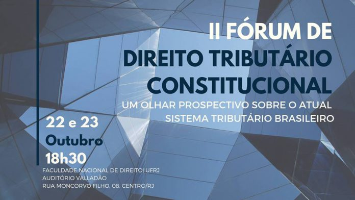 Janssen Murayama é palestrante do II Fórum de Direito Tributário Constitucional da UFRJ