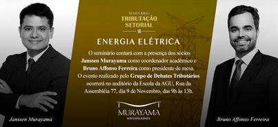 Seminário Tributação Setorial - Energia Elétrica
