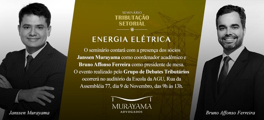 Seminário Tributação Setorial – Energia Elétrica